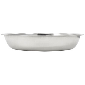 CAMPZ Stainless Steel Plate Deep 22cm